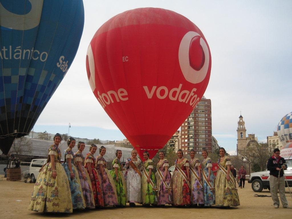 theballooncompany_Valencia fallas_Vodafone_volarenglobo