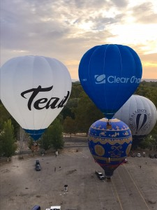 Estrenando los globos de Clear Channel y Teads Tv