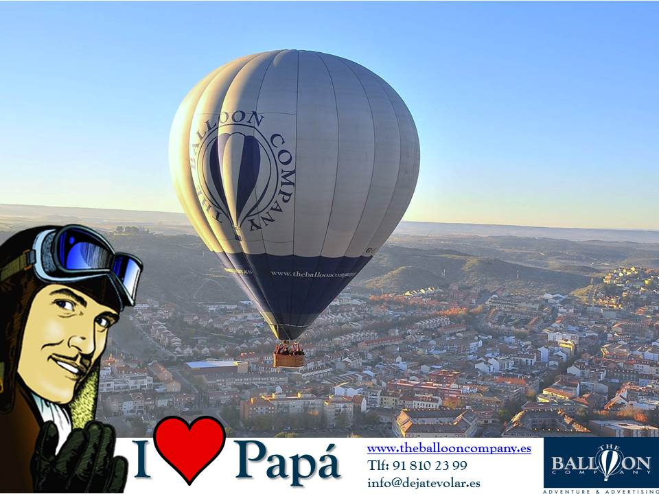 Vuelo en globo día del padre The Balloon Company