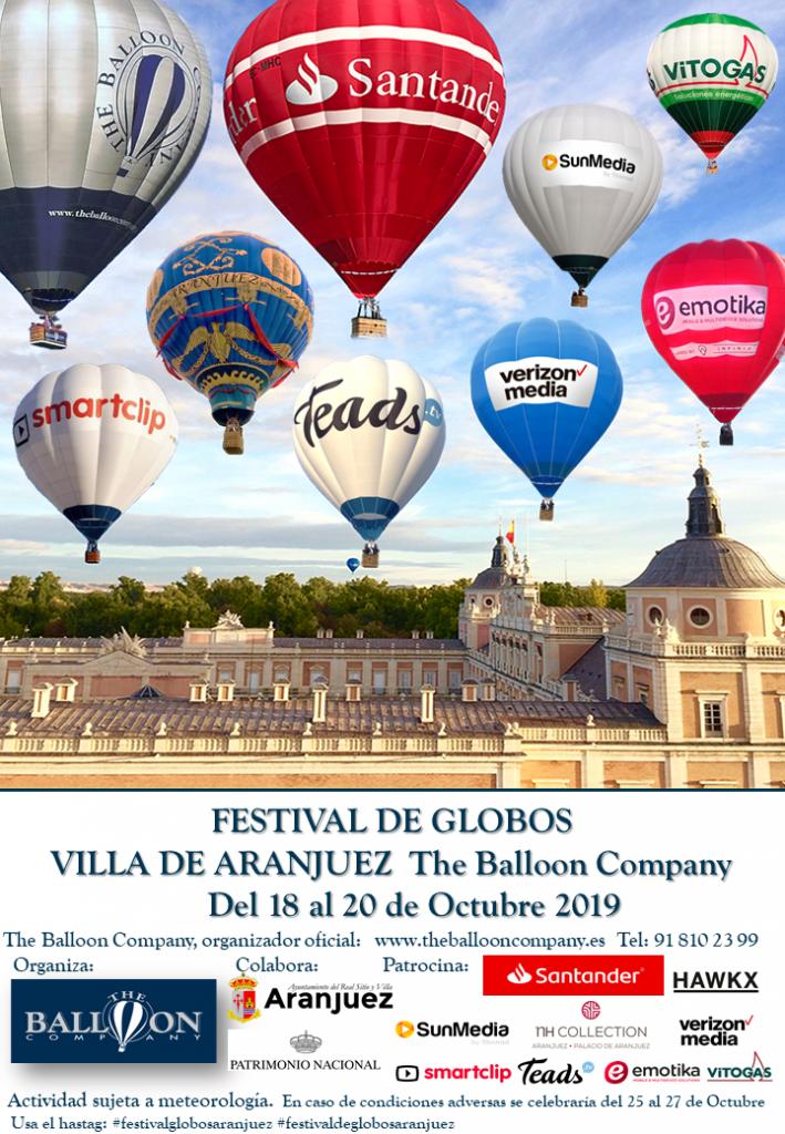 FESTIVAL GLOBOS ARANJUEZ THE BALLOON COMPANY