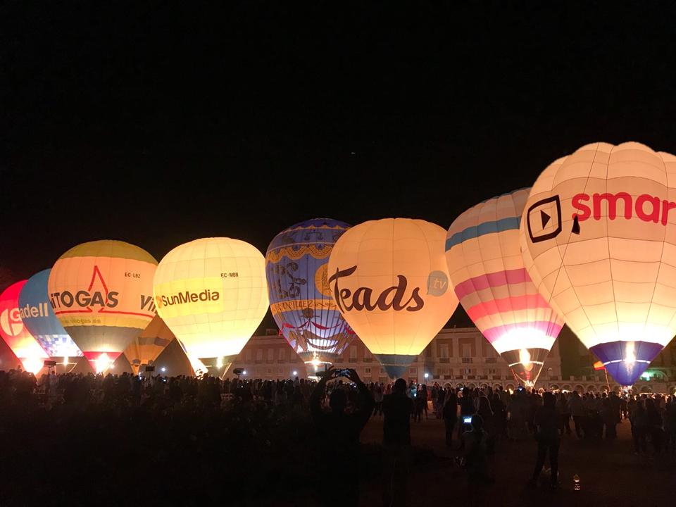 Festival de globos aranjuez
