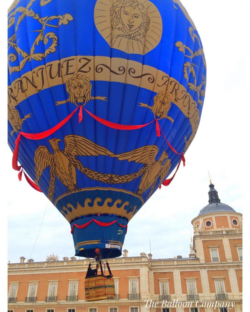 Palacio Real de Aranjuez y Globo aerostático Madrid