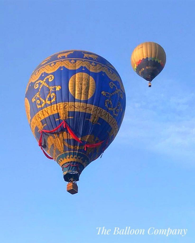 paseo en globo madrid